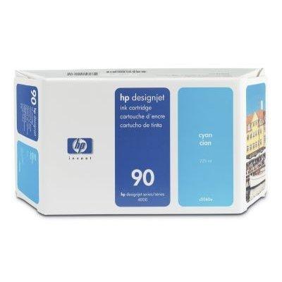 Картридж HP № 90 (C5060A) для DesignJet 4000/4500 225мл, голубой (C5060A)Картриджи для струйных аппаратов HP<br>(Описание)<br>