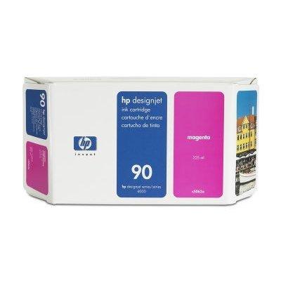 Картридж HP № 90 (C5062A) для DesignJet 4000/4500 225мл, пурпурный (C5062A)Картриджи для струйных аппаратов HP<br>(Описание)<br>