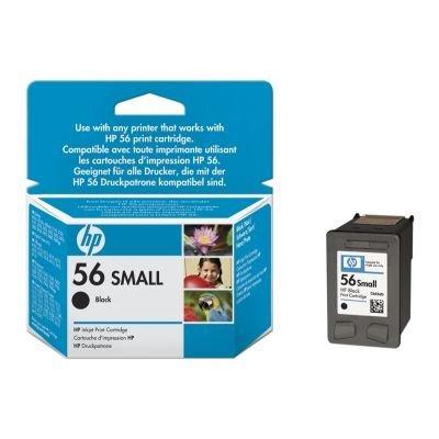Картридж HP № 56 (C6656GE) черный (C6656GE)Картриджи для струйных аппаратов HP<br>для DeskJet 450/5100/5550/5850/9600/PhotoSmart7xxx, черный<br>