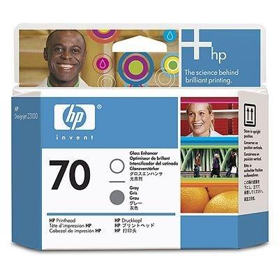 Печатающая головка HP № 70 (C9410A) для улучшения глянца и серая (C9410A)Печатающие головки HP<br>Усиление глянца и серых оттенков.  Для Z3100/ Z2100/ T1120/ Z3200/ B8850/ B9180<br>