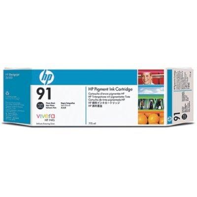 Картридж HP № 91 (C9465A) для DesignJet Z6100, 775мл, черный фото (C9465A)Картриджи для струйных аппаратов HP<br>для DesignJet Z6100, 775мл, черный фото<br>