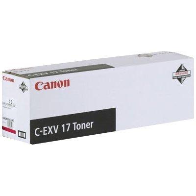 Тонер (0260B002) Canon C-EXV17 пурпурный (0260B002)Тонеры для лазерных аппаратов Canon<br>Тонер Canon C-EXV17 Black (0262B002), лазерная печать, 30000 стр., для многофункциональных устройств iRC4580i/iRC4080i<br>