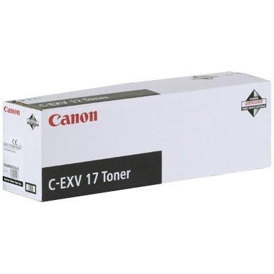 Тонер (0262B002) Canon C-EXV17 черный (0262B002)Тонеры для лазерных аппаратов Canon<br>тонер-картридж Canon. Заявленный ресурс: 30 000 страниц А4 при заполнении в 5%. Совместимые модели устройств: iR4600/5000/5000i/6000i.<br>