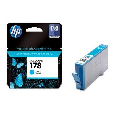 Картридж HP № 178 (CB318HE) голубой (CB318HE)Картриджи для струйных аппаратов HP<br>4 мл.<br>