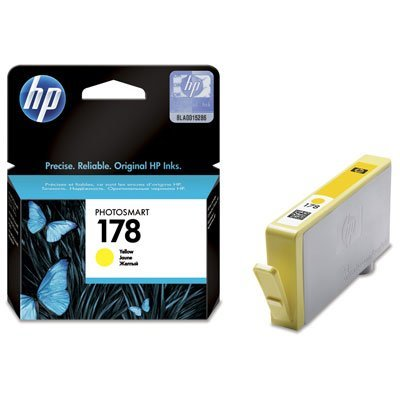 Картридж HP № 178 (CB320HE) желтый (CB320HE)Картриджи для струйных аппаратов HP<br>4 мл.<br>