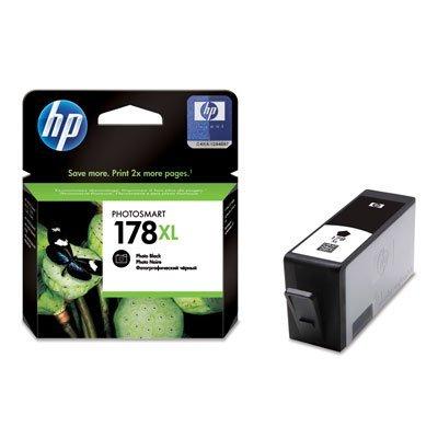 Картридж HP № 178XL (CB322HE) фото черный (CB322HE)Картриджи для струйных аппаратов HP<br>8 мл.<br>