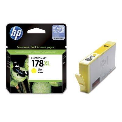 Картридж HP № 178XL (CB325HE) желтый (CB325HE)Картриджи для струйных аппаратов HP<br>8 мл.<br>
