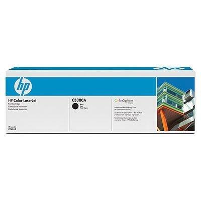 Картридж HP (CB380A) для Color LaserJet, черный (CB380A)Тонер-картриджи для лазерных аппаратов HP<br>к HP CP6015, CM6030, CM6040<br>