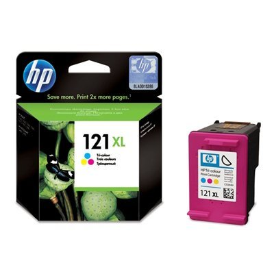 Картридж HP № 121XL (CC644HE) трехцветный (CC644HE)Картриджи для струйных аппаратов HP<br>(Описание)<br>