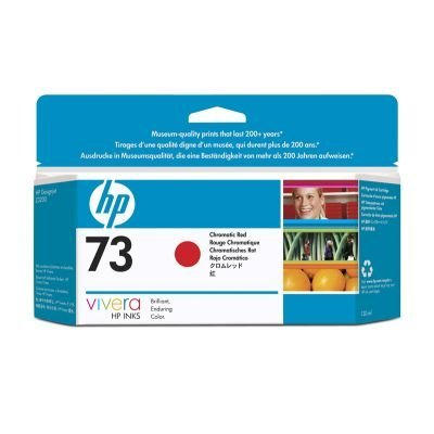 Картридж HP № 73 (CD951A)  хроматический красный (CD951A)Картриджи для струйных аппаратов HP<br>130 мл, хроматический красный<br>