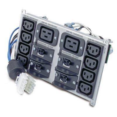 Коннектор электропитания APC Symmetra RM 220-240V Backplate Kit (SYPD4)Коннекторы электропитания ИБП APC<br>w/(8) IEC320 C13 &amp;amp; (2) IEC320 C19<br>