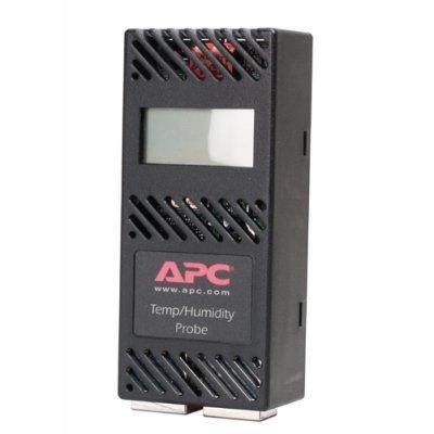 Датчик для ИБП температуры и влажности APC AP9520TH (AP9520TH)Датчики для ИБП APC<br>Мониторинг уровней температуры и влажности в стойке или помещении. Простота просмотра данных о температуре и влажности на ЖК-экране<br>