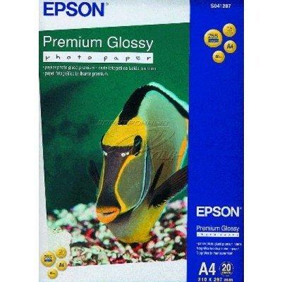Бумага EPSON (C13S041624) Premium Semiglossy Photo Paper A4,255 г/м2, 50 листов (C13S041624), арт: 49920 -  Бумага для принтера Epson