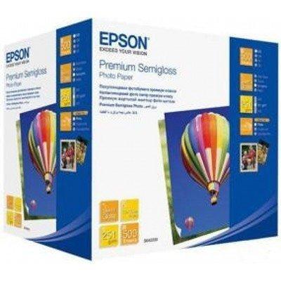 Бумага EPSON (C13S042200) Premium Semiglossy Photo Paper 10x15,бумага 500листов (C13S042200), арт: 49926 -  Бумага для принтера Epson