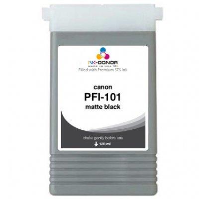 Чернильница (0882B001) Canon PFI-101MBK матовый черный (0882B001)Картриджи для струйных аппаратов Canon<br>для IPF5000/6000 130ml<br>