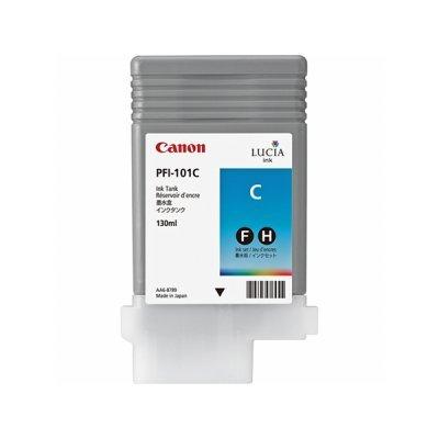 Чернильница (0884B001) Canon PFI-101C голубая (0884B001)Картриджи для струйных аппаратов Canon<br>для IPF5000/6000 130ml<br>