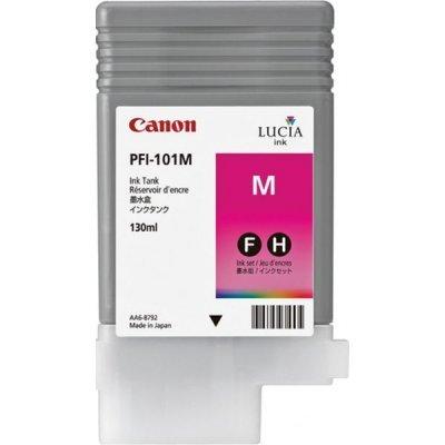Чернильница (0885B001) Canon PFI-101M пурпурная (0885B001)Картриджи для струйных аппаратов Canon<br>для IPF5000/6000 130ml<br>
