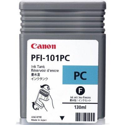 Чернильница Canon (0887B001)  PFI-101PC фото голубая (0887B001)Картриджи для струйных аппаратов Canon<br>для IPF5000/6000 130ml<br>