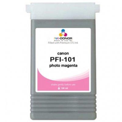 Чернильница Canon (0888B001)  PFI-101PM фото пурпурная (0888B001) картридж canon pfi 101pm photo magenta 0888b001
