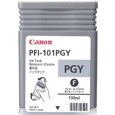 Картридж для струйных принтеров Canon (0893B001)  PFI-101PG фото серый (0893B001)Картриджи для струйных аппаратов Canon<br>для IPF5000/6000 130ml<br>