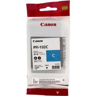Картридж (0896B001) Canon PFI-102C голубой (0896B001) canon pfi 102c