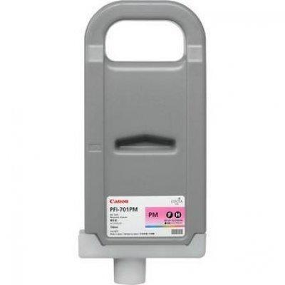 Картридж Canon (0905B005) PFI-701PM для плоттера Canon iPF8000/ 9000/8100, фото пурпурный (0905B005)Картриджи для струйных аппаратов Canon<br>(Описание)<br>