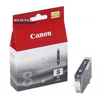 Картридж (0620B024) Canon CLI-8BK черный (0620B024)Картриджи для струйных аппаратов Canon<br>для Canon iP4200/4300/4500/5200/5300/MP600/610/810/830/970<br>