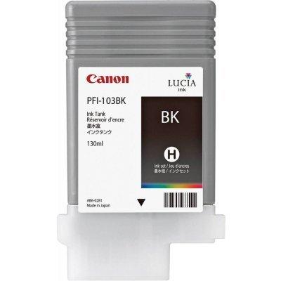 Картридж (2212B001) Canon PFI-103BK черный (2212B001)Картриджи для струйных аппаратов Canon<br>для плоттера Canon IPF-5100/6100 (130 мл) черный<br>