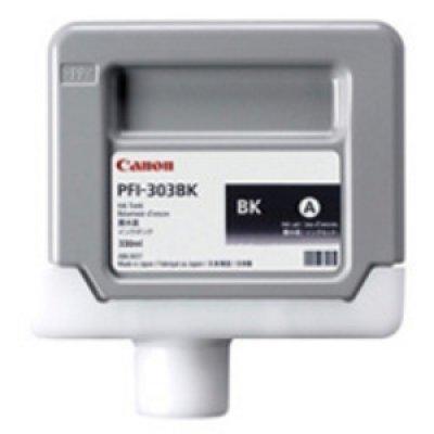 Картридж (2958B001) Canon PFI-303BK черный (2958B001)Картриджи для струйных аппаратов Canon<br>для iPF810/ iPF820, черный<br>