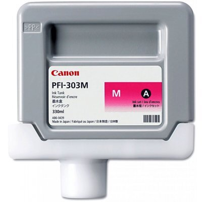 Картридж (2960B001) Canon PFI-303M пурпурный (2960B001)Картриджи для струйных аппаратов Canon<br>для iPF810/ iPF820, пурпурный<br>