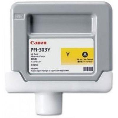 Картридж (2961B001) Canon PFI-303Y желтый (2961B001)Картриджи для струйных аппаратов Canon<br>для iPF810/ iPF820, желтый<br>