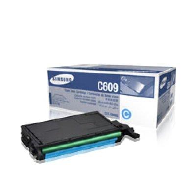 Тонер-Картридж голубой Samsung CLT-C609S/SEE для CLP-770ND (CLT-C609S/SEE)