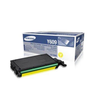 Тонер-Картридж желтый Samsung CLT-Y609S для CLP-770ND (CLT-Y609S/SEE)Тонер-картриджи для лазерных аппаратов Samsung<br>для CLP-770ND<br>