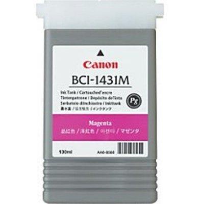 Картридж (8971A001) Canon  BCI-1431M пурпурный (8971A001) картридж для плоттера canon bci 1431 black