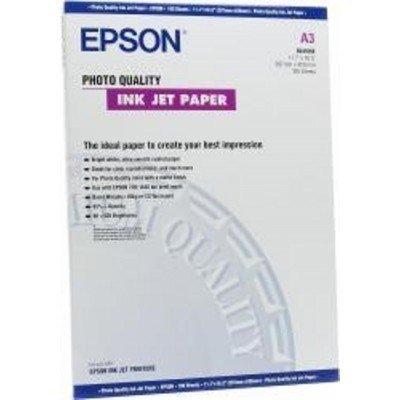 Бумага (C13S041068) Epson Photo Quality Ink Jet , A3, 100 л (C13S041068), арт: 50542 -  Бумага для принтера Epson