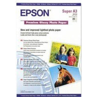 Бумага (C13S041316) EPSON Premium Glossy Photo Paper (A3+) (C13S041316), арт: 50549 -  Бумага для принтера Epson