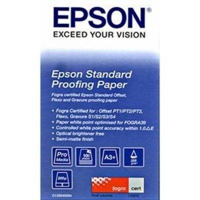 Бумага (C13S045005) Epson STANDARD Proofing Paper A3 (100sh) (C13S045005), арт: 50624 -  Бумага для принтера Epson