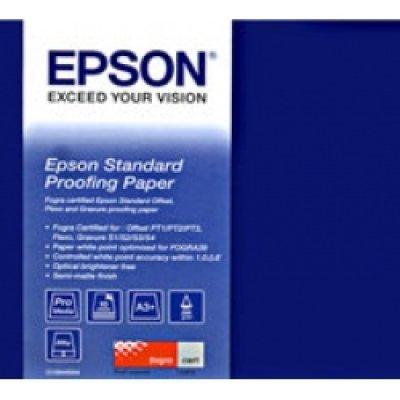 Бумага (C13S045007) Epson STANDARD Proofing Paper 17 (C13S045007)Бумага для принтера Epson<br>Высококачественная полуматовая бумага для цветопроб.<br>