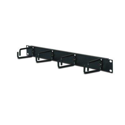 Кабельный органайзер APC 1U Horizontal Black / AR8425A (AR8425A)Кабельные органайзеры APC<br>Не требующее использования инструментов приспособление для вертикальной укладки кабелей, допускающее быструю установку и не занимающее посадочных мест в стойке. (Помогает избавиться от натяжения кабелей и упорядочить их размещение в тыльных каналах шкафа NetShelter. )<br>