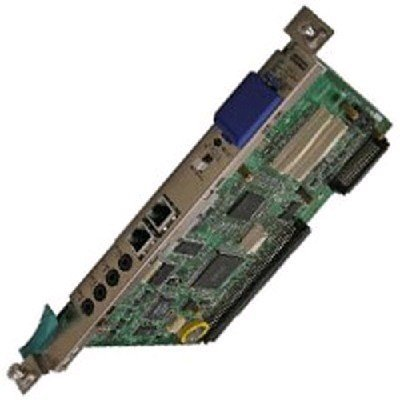 Плата центрального процессора, 2 порта Ethernet, встроенная 2-канальная голосовая почта (KX-TDE0101RU)Модули телефонные Panasonic<br>2xEthernet, 2-<br>