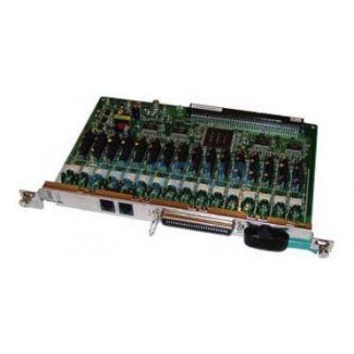 Плата 16 внутренних аналоговых линий для KX-TDA100/200, TDE100/200 (KX-TDA0174XJ)Платы расширения Panasonic<br><br>