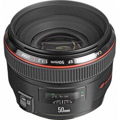 Объектив Canon EF 50 MM F1.2 L USM (1257B005)