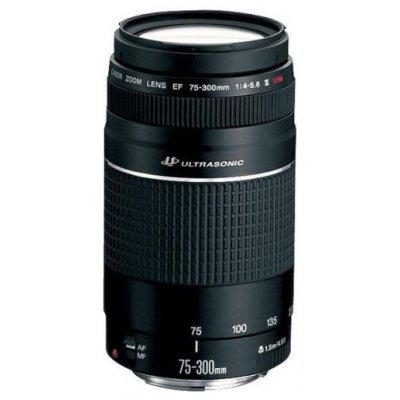 Объектив Canon EF 75-300mm f/4-5.6 III USM (6472A012)Объективы для фотоаппарата Canon<br>Zoom-телеобъектив<br><br>крепление Canon EF и EF-S<br>автоматическая фокусировка<br>минимальное расстояние фокусировки 1.5 м<br>размеры (DхL): 71x122 мм<br>вес: 480 г<br>