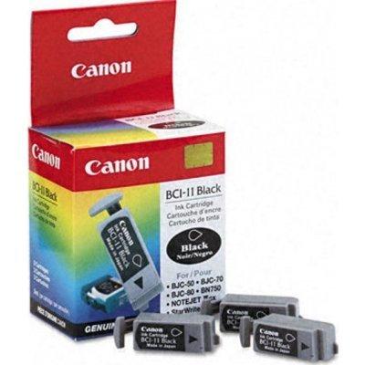 Картридж (0957A002) Canon BCI-11Bk черный (3 шт.) (0957A002)Картриджи для струйных аппаратов Canon<br>подходит к BJC-50/55/70/80/85, BN-700, ресурс примерно 45 страниц (заполнение 5%)<br>