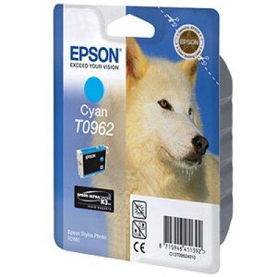 Картридж (C13T09624010) EPSON T0962 для Stylus Photo R2880 голубой (C13T09624010) картридж epson c13t07954010 для epson stylus photo 1500w голубой