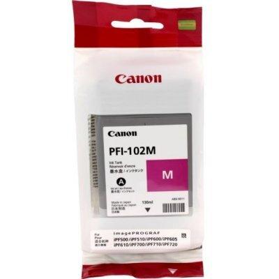 Картридж (0897B001) Canon Ink Tank PFI-102M пурпурный (0897B001)