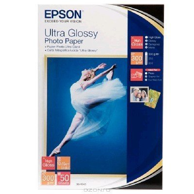 Бумага (C13S041943) EPSON Ultra Glossy Photo Paper (10x15) (C13S041943)