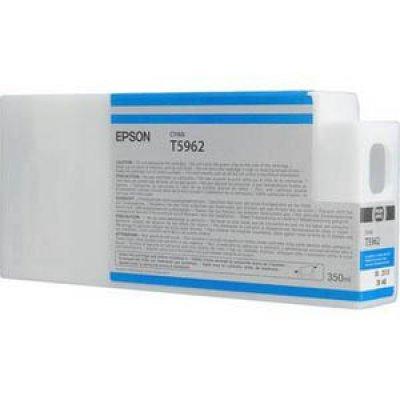 Картридж (C13T596200) EPSON I/C SP 7900 / 9900  : голубой 350 ml (C13T596200)Картриджи для струйных аппаратов Epson<br>голубой 350 ml<br>