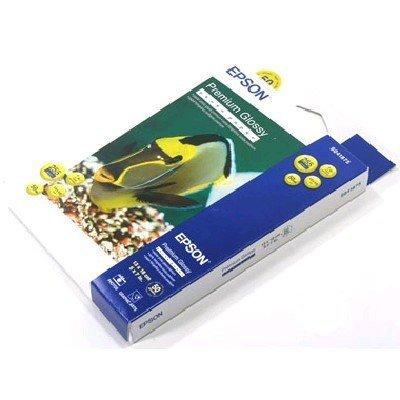 Бумага (C13S041875) EPSON Premium Glossy Photo Paper (C13S041875)Бумага для принтера Epson<br>Плотная высококачественная глянцевая бумага для струйной печати. Предназначена для печати фотографий профессионального уровня. Подходит как для чернил на водной основе, так и пигментных чернил.<br>
