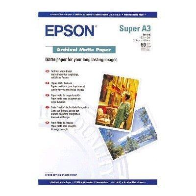 Бумага (C13S041340) EPSON Archival Matter Paper, A3+ (C13S041340), арт: 52971 -  Бумага для принтера Epson